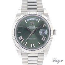 Rolex Day-Date 40 228239 Ny Vitguld 40mm Automatisk