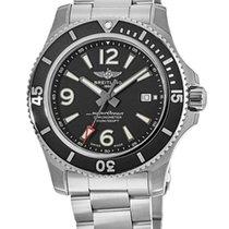 Breitling Superocean 44 neu Automatik Uhr mit Original-Box A17367D71B1A1