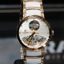 Rado Centrix Automatic Diamonds Open Heart Rose  & White  33mm