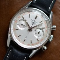 """Heuer Carrera Chronograph Ref. 3647T """"Red Tachy"""""""