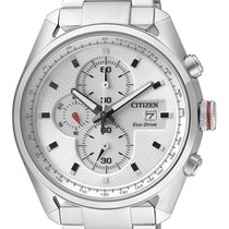Citizen CA0360-58A CITIZEN CRONO 0360 Eco Drive 44mm Acciaio Bianco nouveau