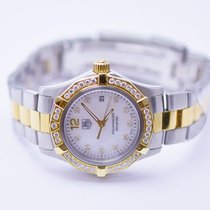 TAG Heuer Aquaracer Ladies Stainless Steel & 18K Gold Watch