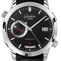 Glashütte Original Senator Diary Steel 42mm Black
