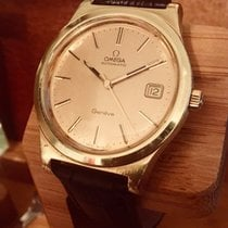 Omega 1978 Gold Geneve Automatic Cal 1012 Watch + Box