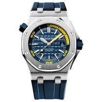 Audemars Piguet Royal Oak Offshore Diver Steel Blue Dial 42mm New