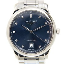 Longines Master Collection Steel 38.5mm Blue