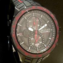 Graham Silverstone RS Steel 46mm Black No numerals