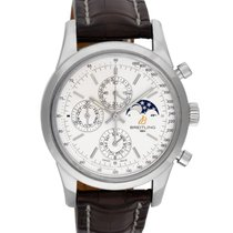 Breitling Transocean Chronograph 1461 Steel 43mm White