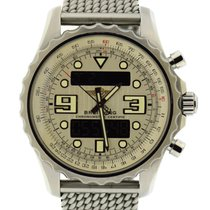 Breitling Chronospace Steel 48mm Black Arabic numerals United States of America, New York, New York