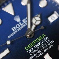Rolex Sea-Dweller Deepsea Acier 44mm Bleu Sans chiffres France, Thonon les bains