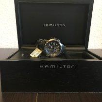 Hamilton Cronograf 44mm Atomat 2016 nou Negru