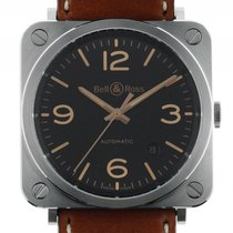 Bell & Ross BR S BRS92-G-HE-ST new