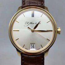H.Moser & Cie. Rose gold 40mm Automatic 342.502-003 pre-owned Australia, Belconnen