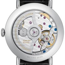 NOMOS Metro Neomatik Steel 35mm Blue Arabic numerals United States of America, Florida, Naples