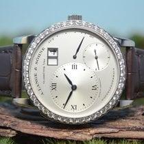 A. Lange & Söhne 38mm Handaufzug neu Silber