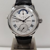 Frederique Constant Manufacture Staal 42mm Zilver Romeins Nederland, Oegstgeest