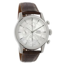 a91f1170f Oris Artelier Chronograph Steel 44mm Silver United States of America,  Arizona, Phoenix. Oris Artelier Mens Chronograph Automatic Watch  77476864051LS