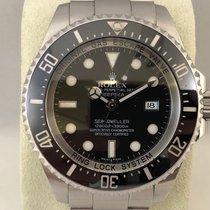 Rolex Sea-Dweller Deepsea Staal 44mm Zwart Geen cijfers Nederland, Kerkrade
