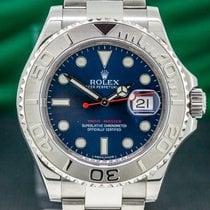 Rolex Yacht-Master 40 Steel 40mm Blue Arabic numerals