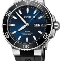 Oris Hammerhead Limited Edition Steel 45.5mm Blue