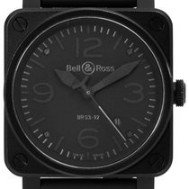 Bell & Ross BR 03 BR03-92-S 2013 pre-owned