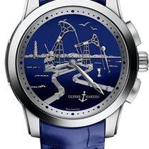 Ulysse Nardin Hourstriker новые Автоподзавод Часы с оригинальными документами и коробкой