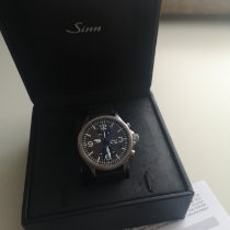 Sinn 756 / 757 Steel 40mm Grey Arabic numerals