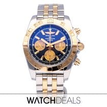 Breitling Chronomat 44 Zlato/Zeljezo 44mm Crn