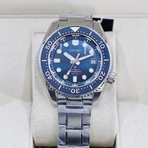 Seiko Marinemaster Steel 44.3mm Blue No numerals United States of America, Georgia, Atlanta