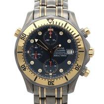 Omega Seamaster Diver 300 M Титан 42mm Синий
