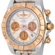 Breitling Chronomat 41 Steel 43.5mm Silver No numerals United States of America, Texas, Dallas