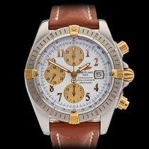 Breitling Chronomat Stainless Steel & 18k Yellow Gold...