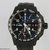 Hacher Chronograph 45mm Automatic 2012 new Black