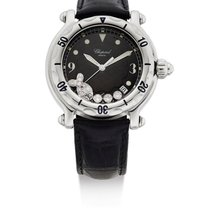 Chopard | A Lady's Stainless Steel Center Second Wristwatc...