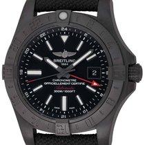 Breitling : Avenger II GMT :  M32390 :  Black PVD Stainless...