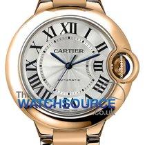 Cartier Pозовое золото 33mm Автоподзавод Ballon Bleu 33mm новые