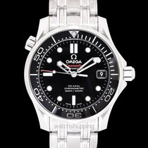 Omega Seamaster Diver 300 M Steel 36.25mm Black United States of America, California, San Mateo