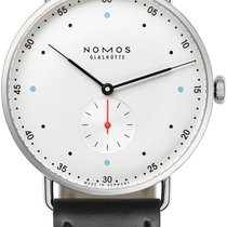 NOMOS Metro 38 Steel 38.5mm White United States of America, New York, Airmont
