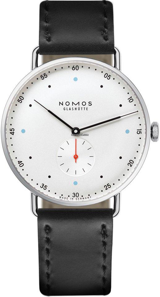 NOMOS Metro 38 1108 Sapphire Crystal Back 2021 new