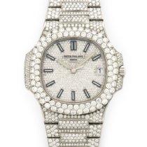 Patek Philippe Nautilus Diamond Bracelet Watch Ref. 5711