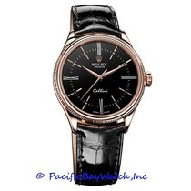 Rolex Cellini Time Rose gold 39mm Black Roman numerals United States of America, California, Newport Beach