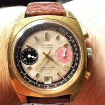 Gruen Chronograph Manual winding pre-owned