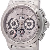 Carl F. Bucherer Steel 45mm Automatic 10623.08 pre-owned