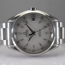 Omega Steel Automatic 38.5mm pre-owned Seamaster Aqua Terra