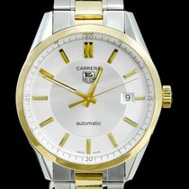 TAG Heuer Carrera Calibre 5 occasion 39mm Or/Acier