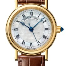 Breguet Classique Yellow gold 30mm Mother of pearl Roman numerals