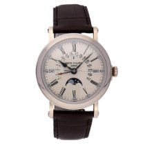 Patek Philippe 5159G-001 White gold 2008 Perpetual Calendar 38mm pre-owned United States of America, New York, NYC