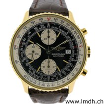 Breitling Yellow gold Automatic pre-owned Old Navitimer