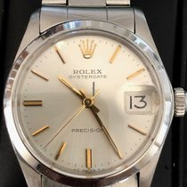 Rolex Oyster Precision Staal 30mm Zilver Geen cijfers Nederland, Rotterdam