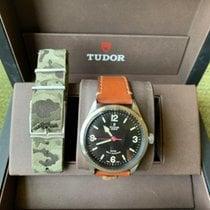 Tudor Heritage Ranger Steel 41mm Black Arabic numerals United States of America, Texas, USA